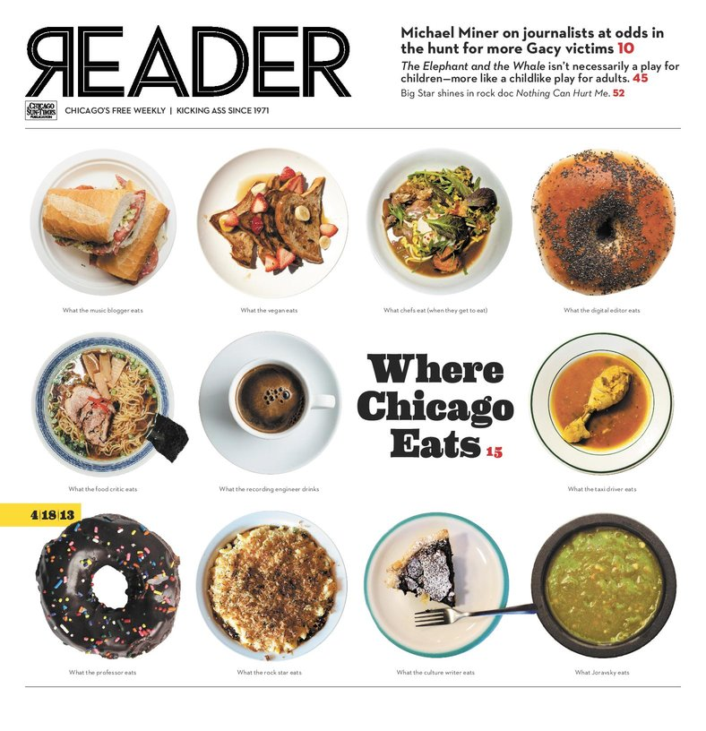 The Reader's Food Issue 2013