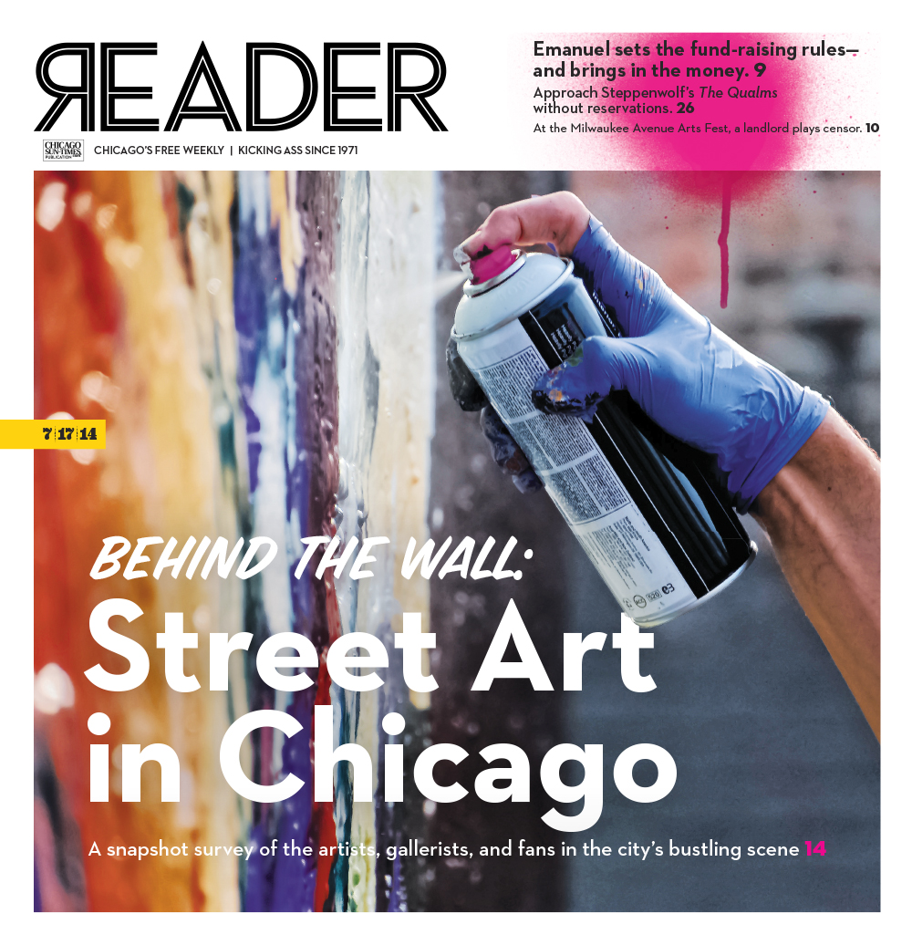 The Reader's Street Art feature 2014