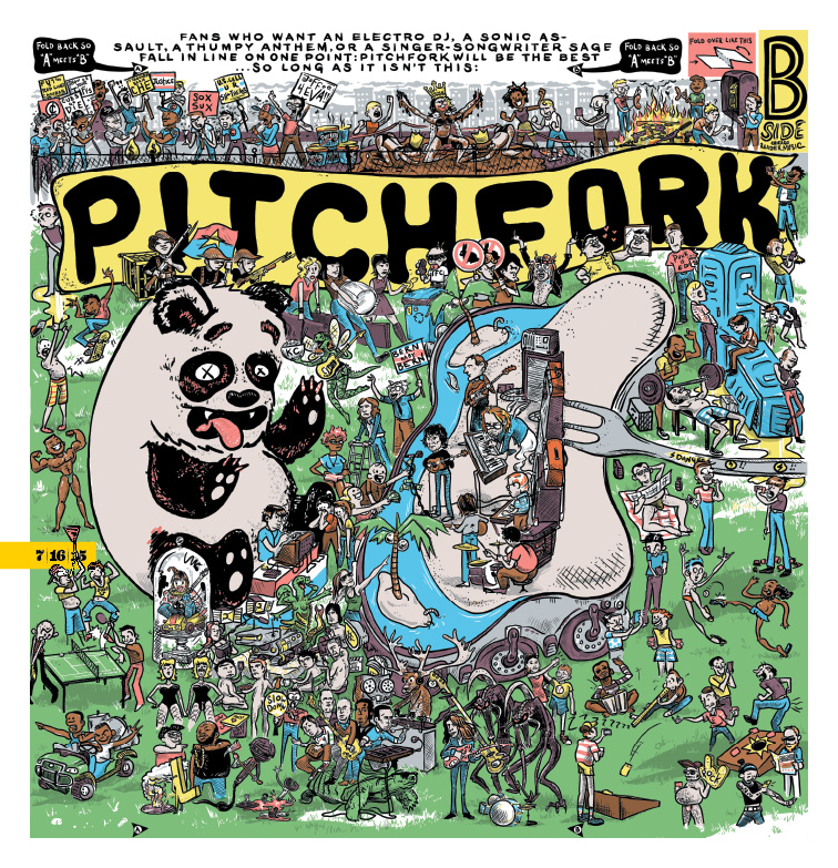 The Reader's Pitchfork coverage 2015
