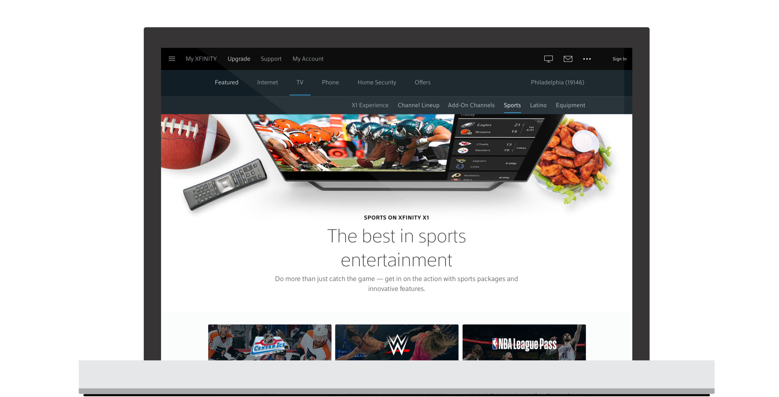 XFINITY Learn Content Redesign   SapientRazorfish Client Work   (requires password)