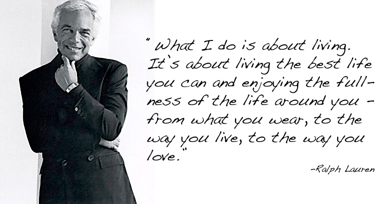 Ralph Lauren-quote