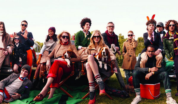 Tommy Hilfiger group ad AW2010-11