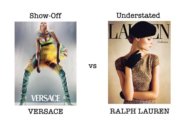 Versace vs RLauren example