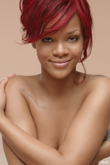 rihanna for nivea