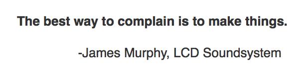 James Murphy quote