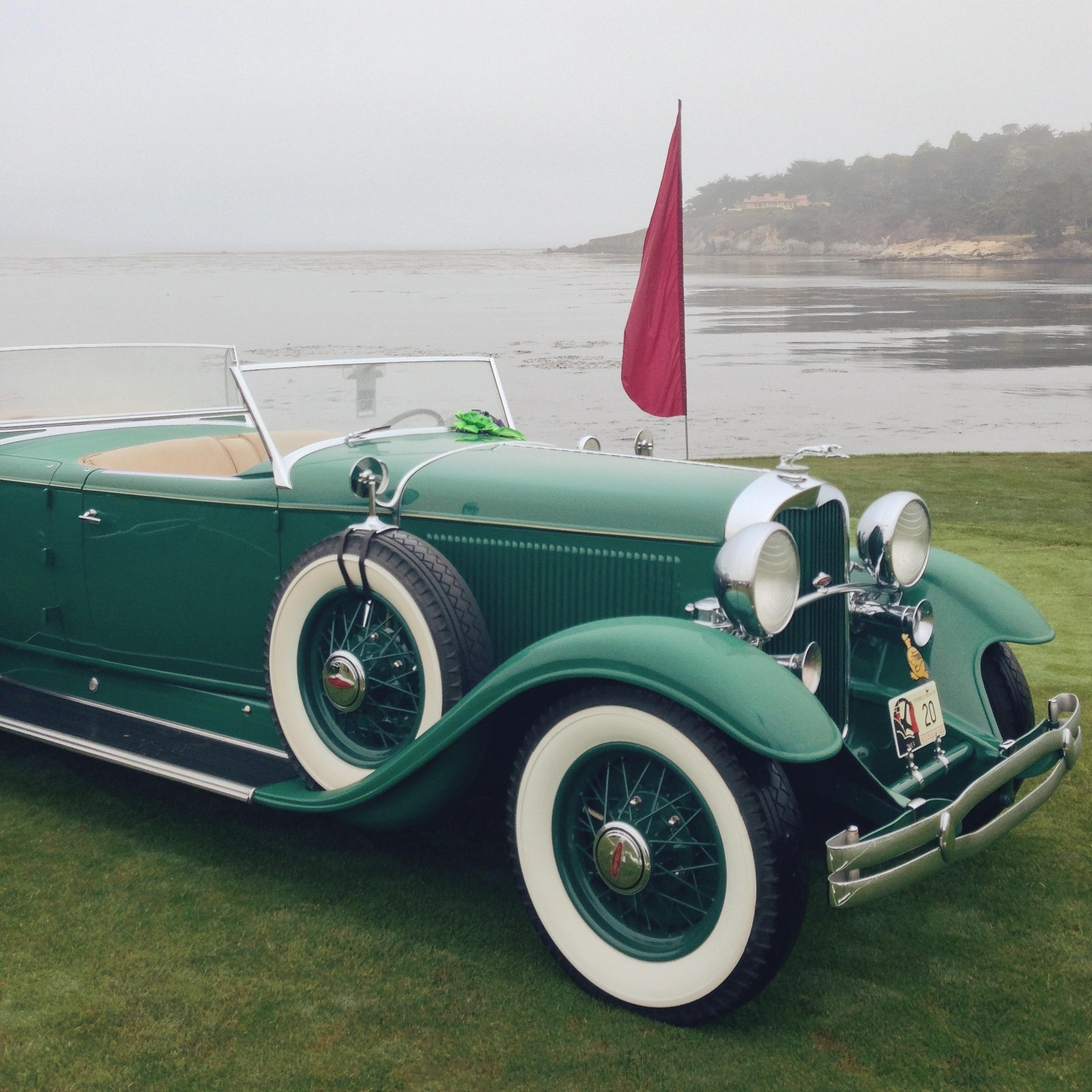 1930 Lincoln Model L Judkins Coupe, shot by Ben Heath