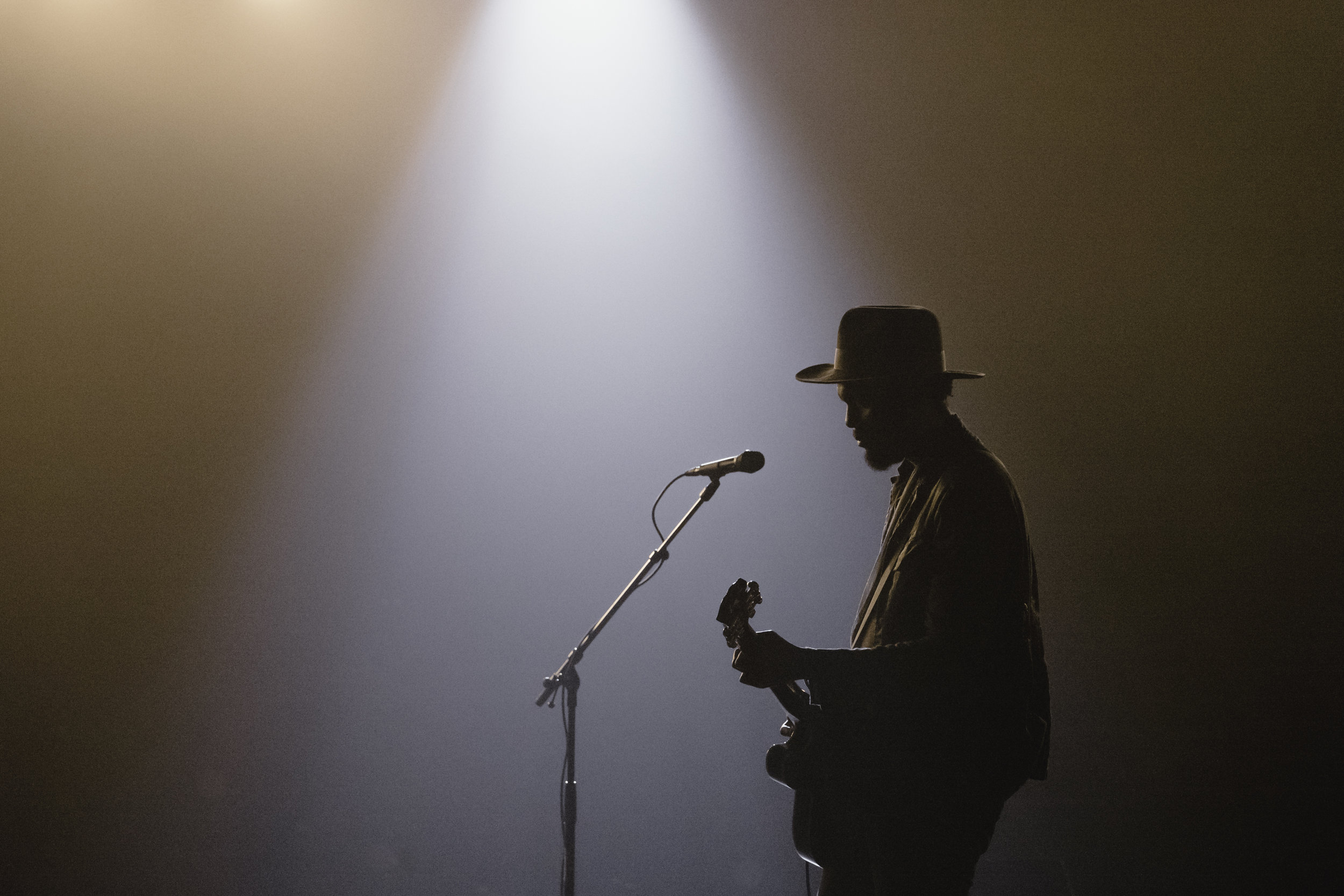 Gary Clark Jr on stage