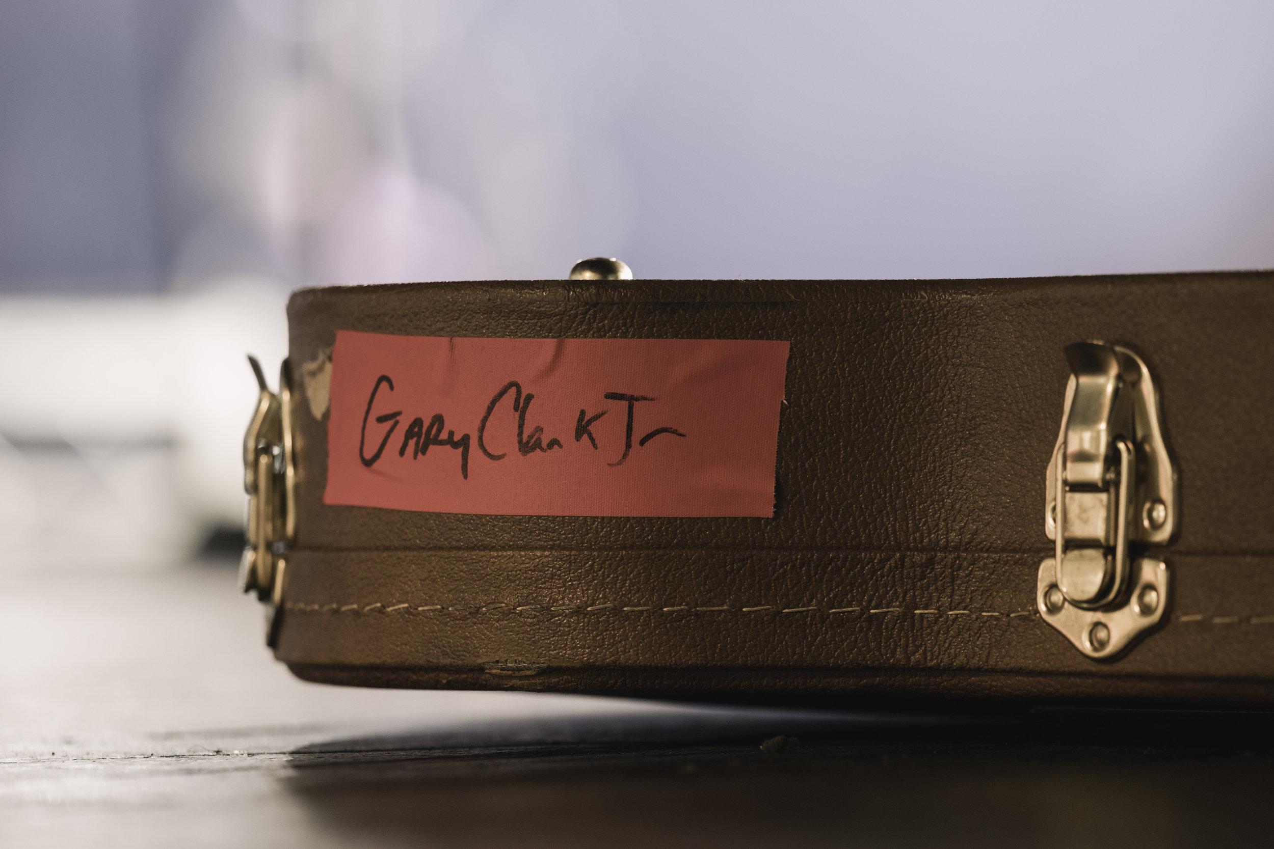 Gary Clark Jr Guitar Case