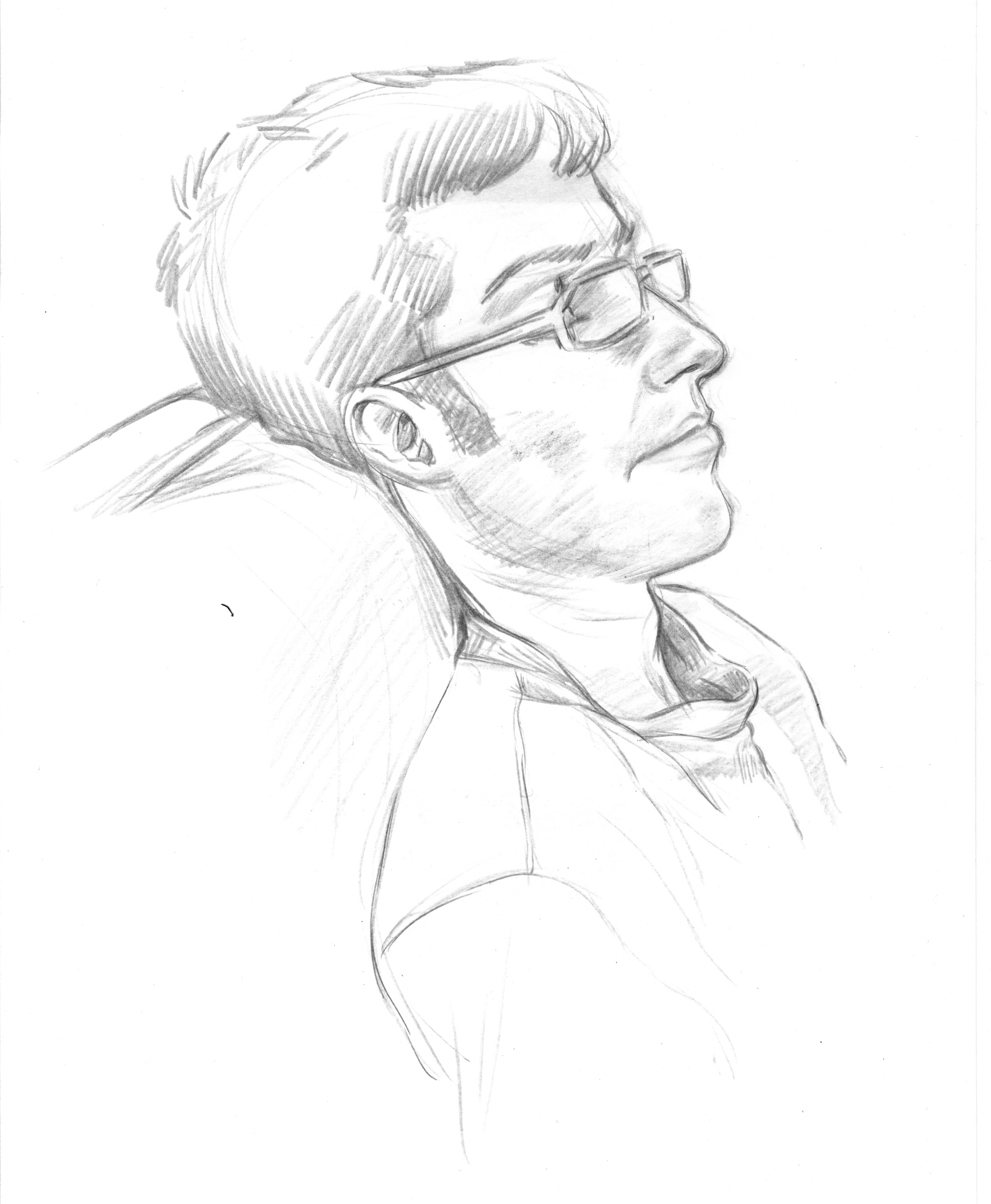 This is a quick sketch I did of Paul