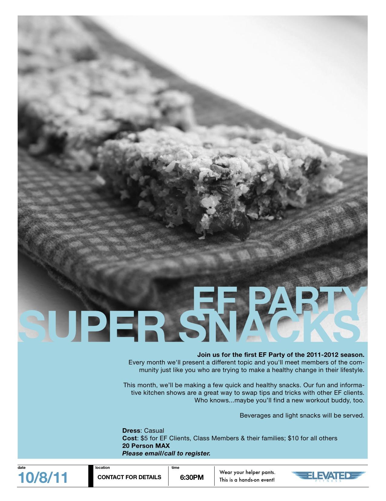 EF Party Super Snacks October 2011.jpg