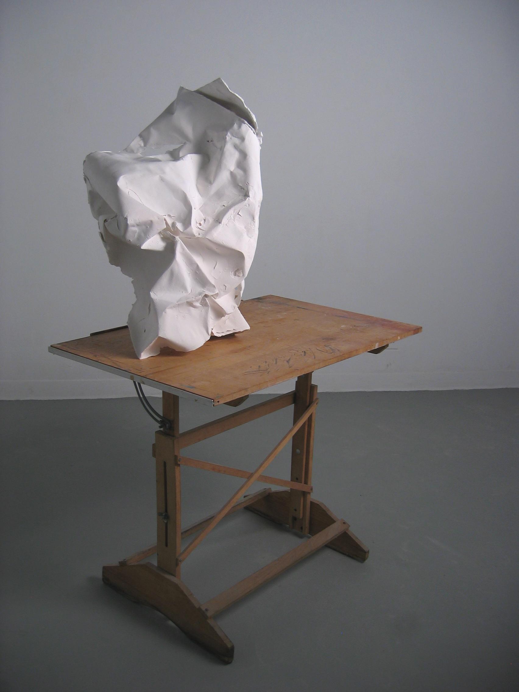 Cast porcelain, drafting table