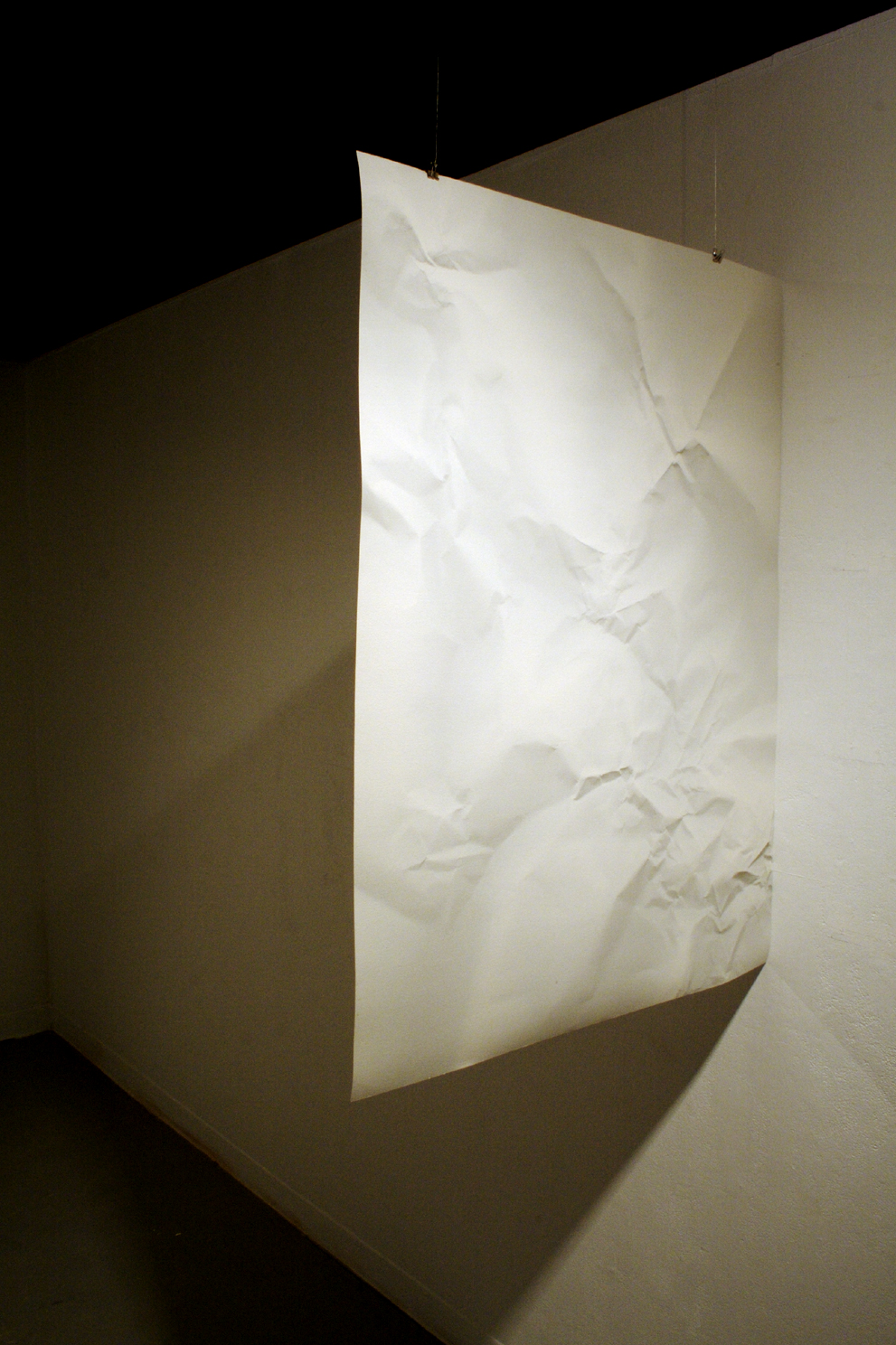Cast porcelain    Digital print on paper