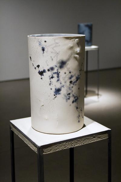 Lumene, 2010   cast porcelain, ceramic decals, lead frits