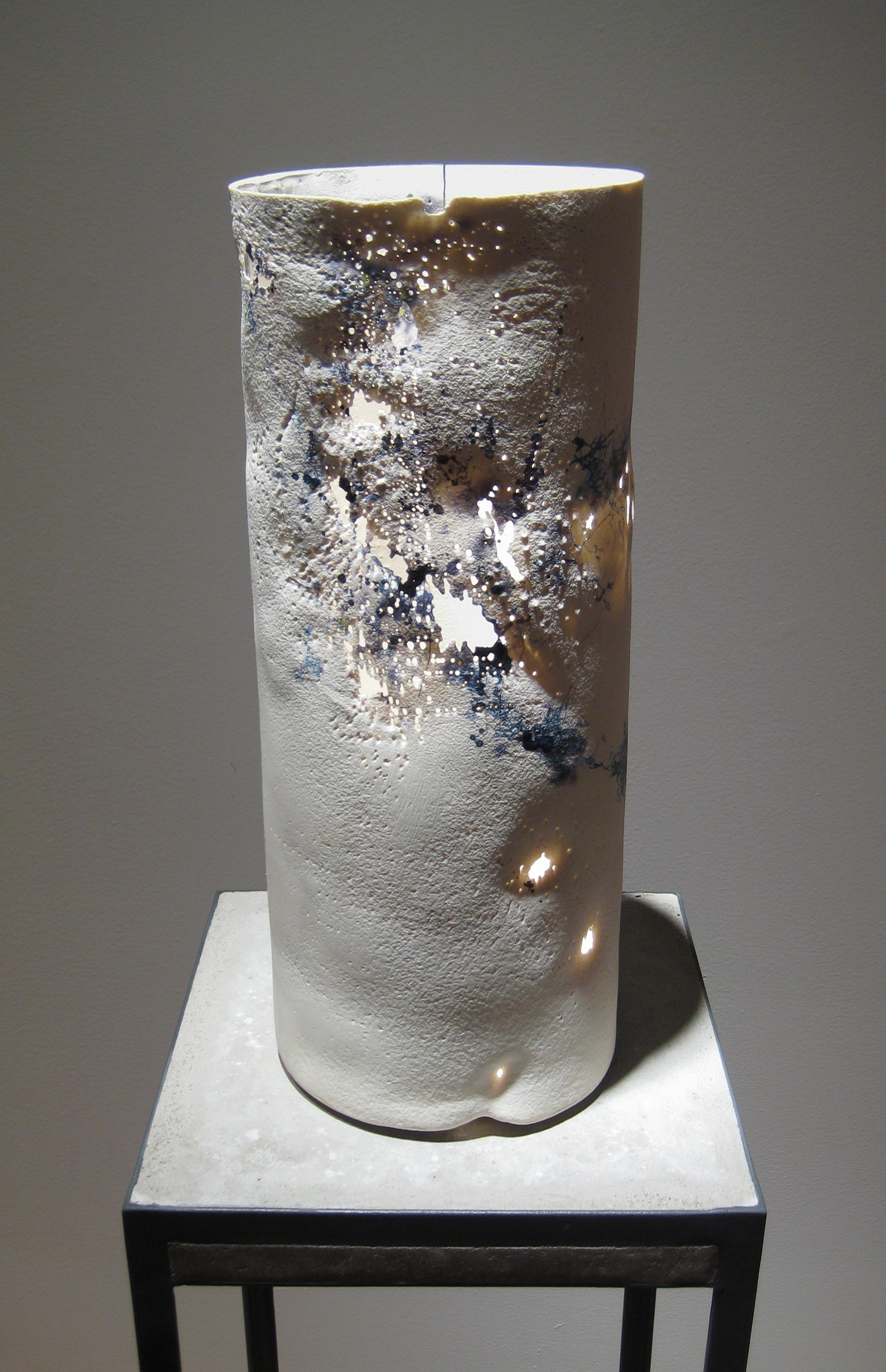 Lumene 2, 2010   cast porcelain, ceramic decals, lead frits