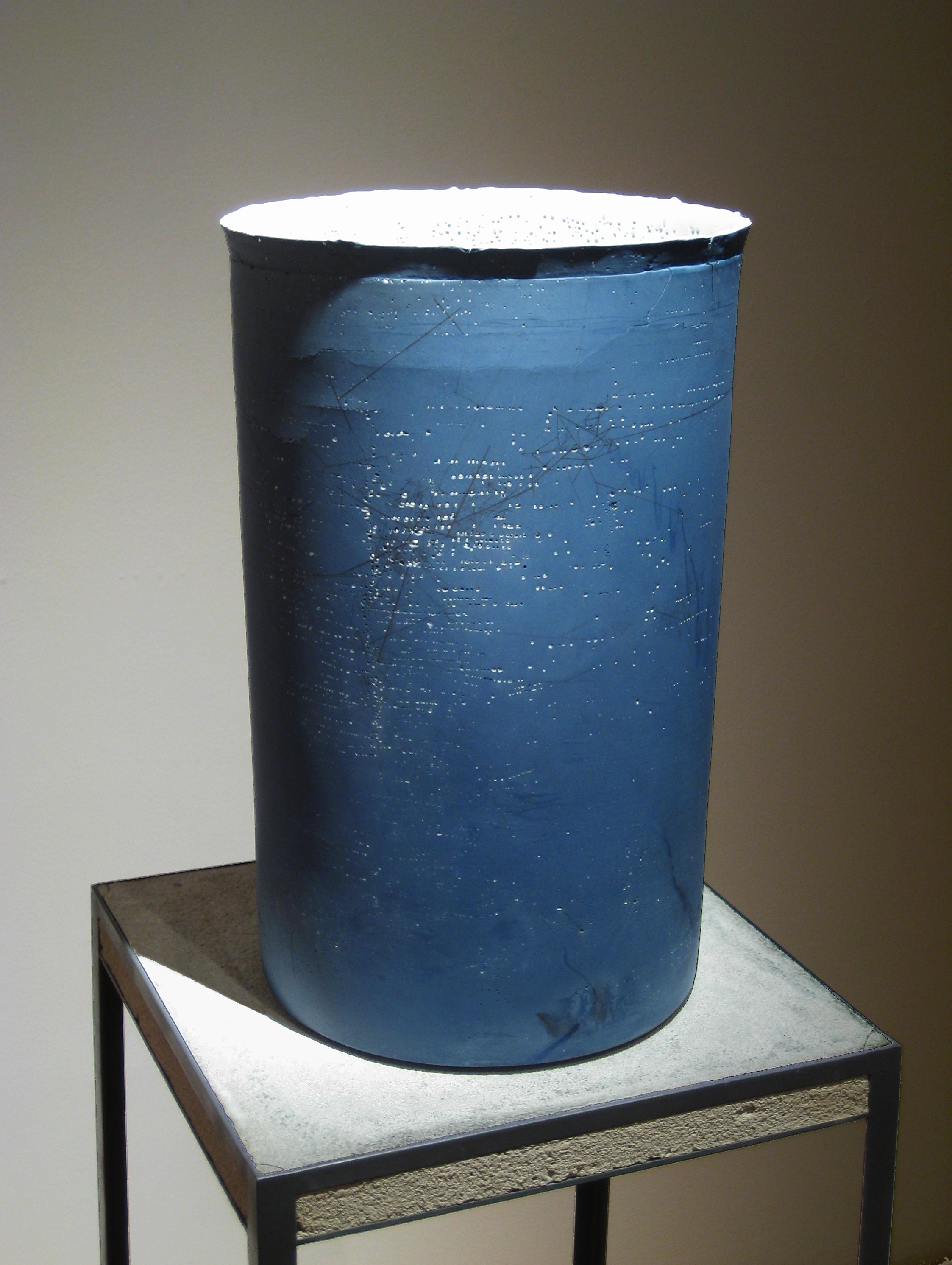 Lumene 3, 2010   cast porcelain, ceramic decals, graphite
