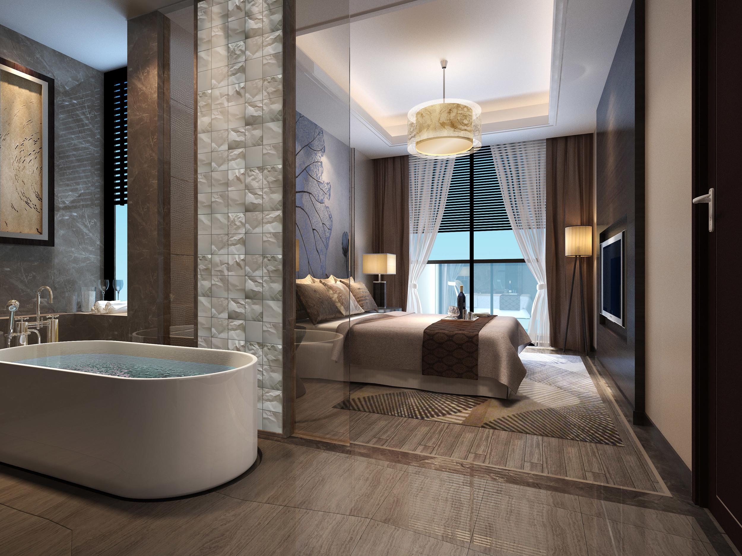 Bathroom Tile Rendering