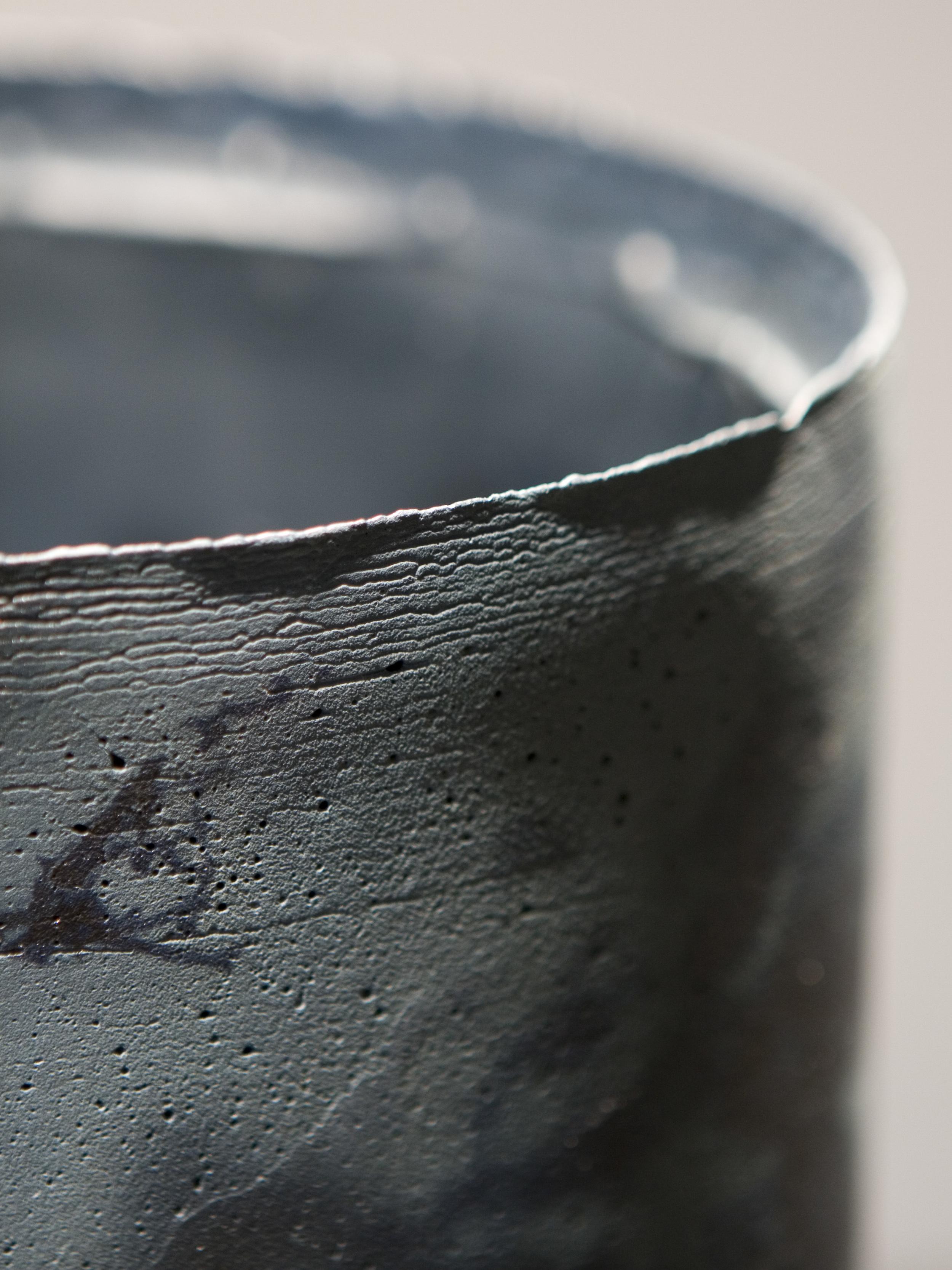 Lunate   cast porcelain, ceramic decals