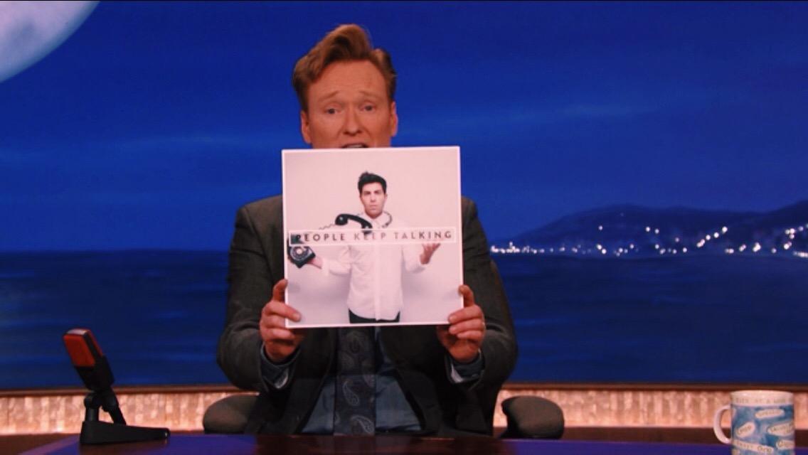 Hoodie Allen - People Keep Talking on Conan 2014