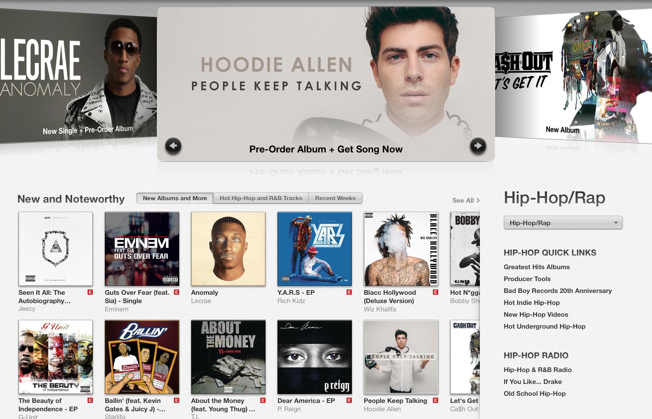 Hoodie Allen - People Keep Talking on iTunes 2014
