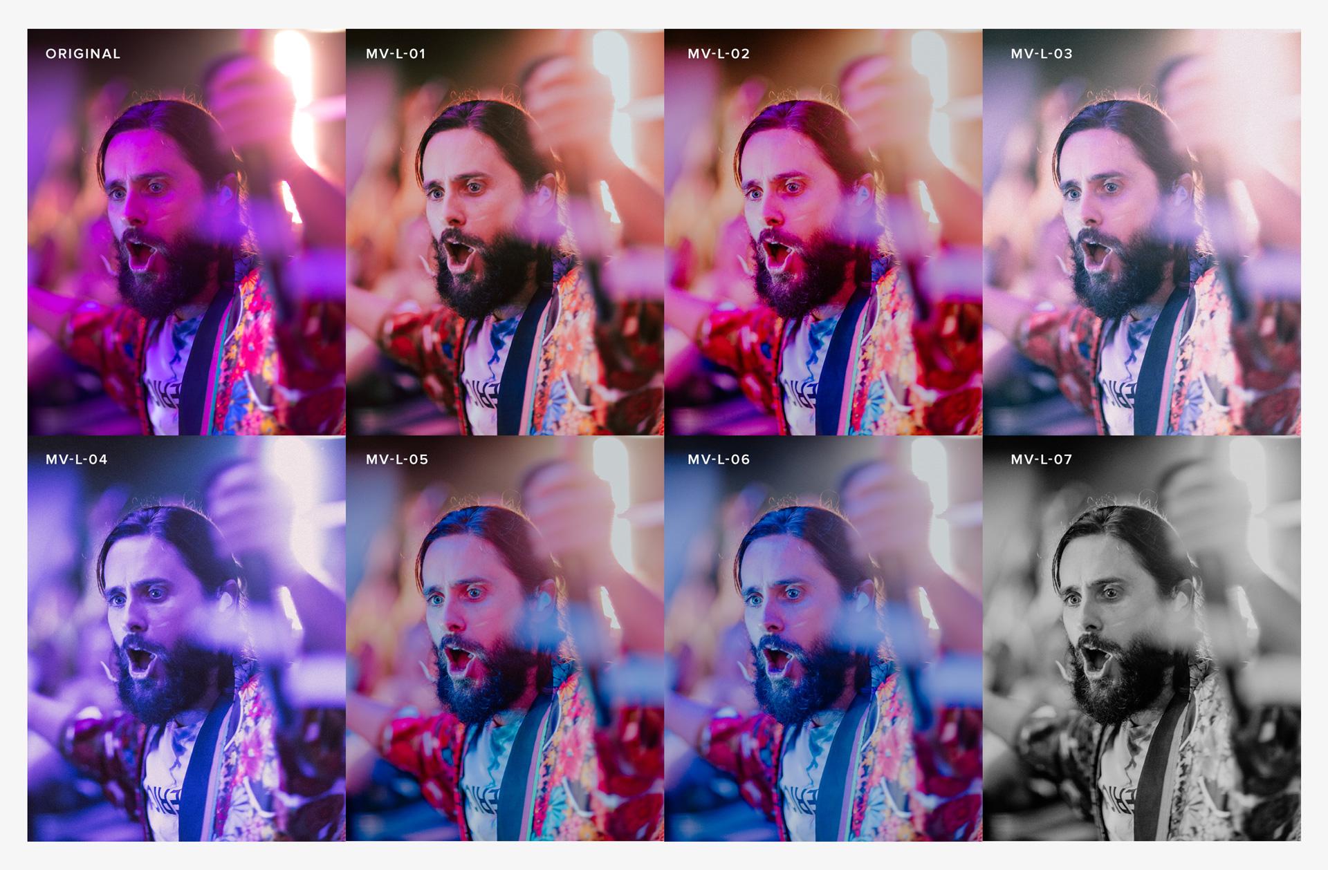 Adobe Lightroom Concert Photography Presets — Matty Vogel | Before & Afters