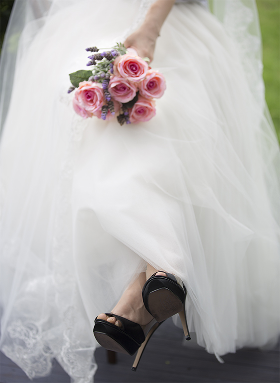 Pink Bouquet in Tulle.jpg