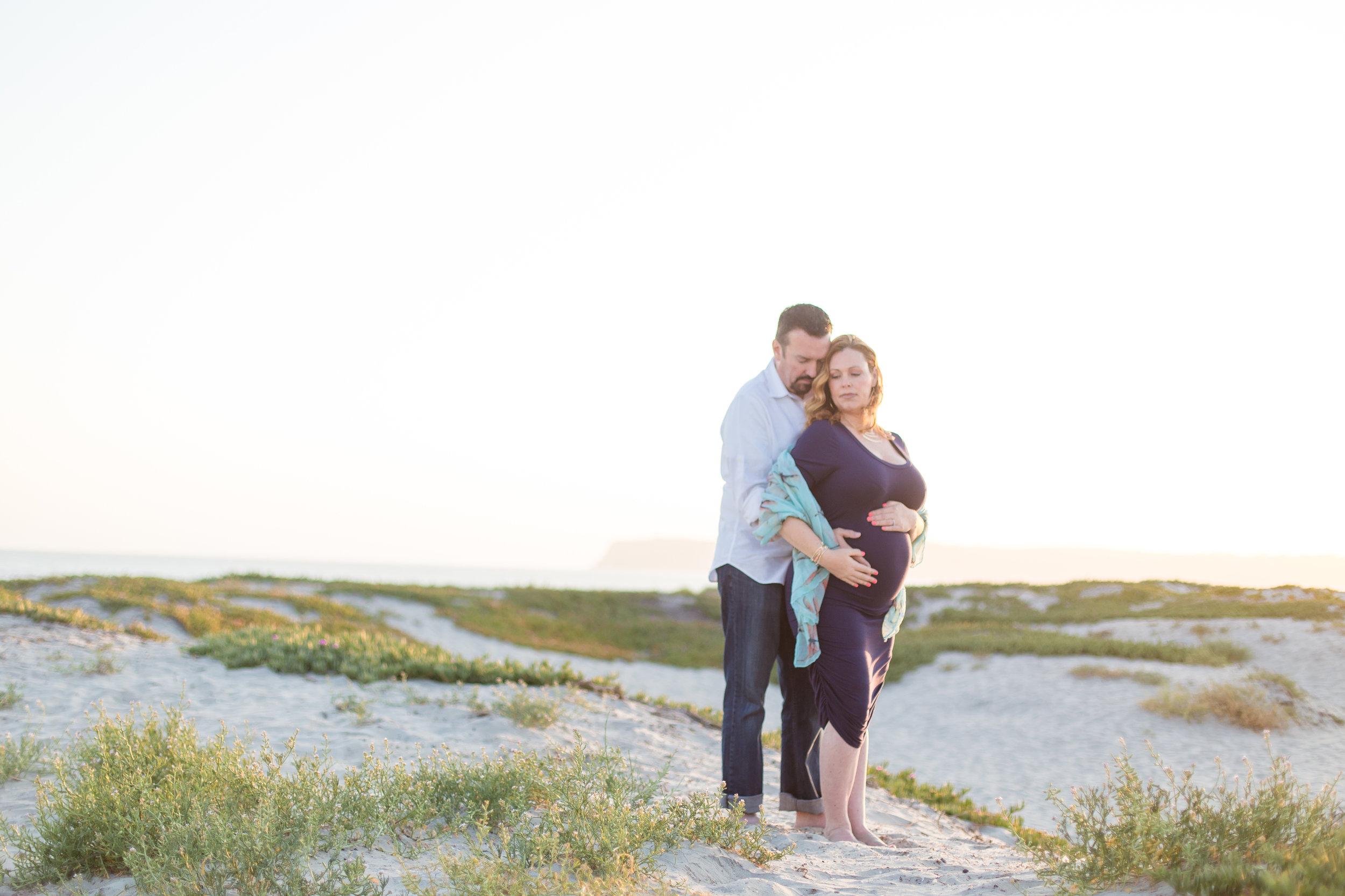 Coronado Beach Maternity Session | Spring 2016