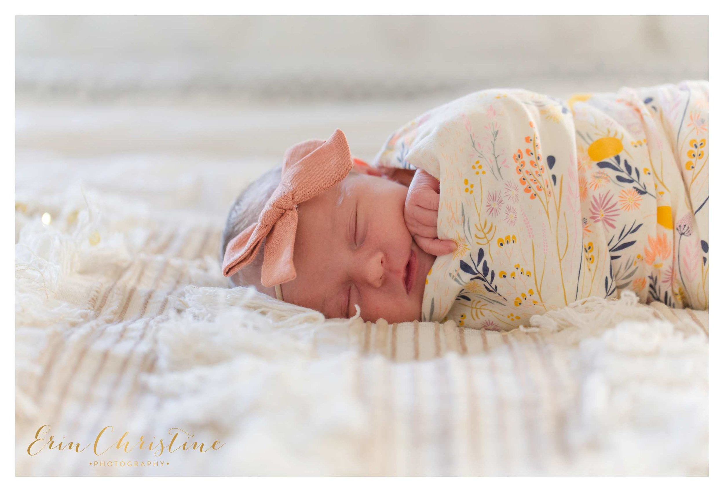 San Diego Lifestyle Newborn Photo session