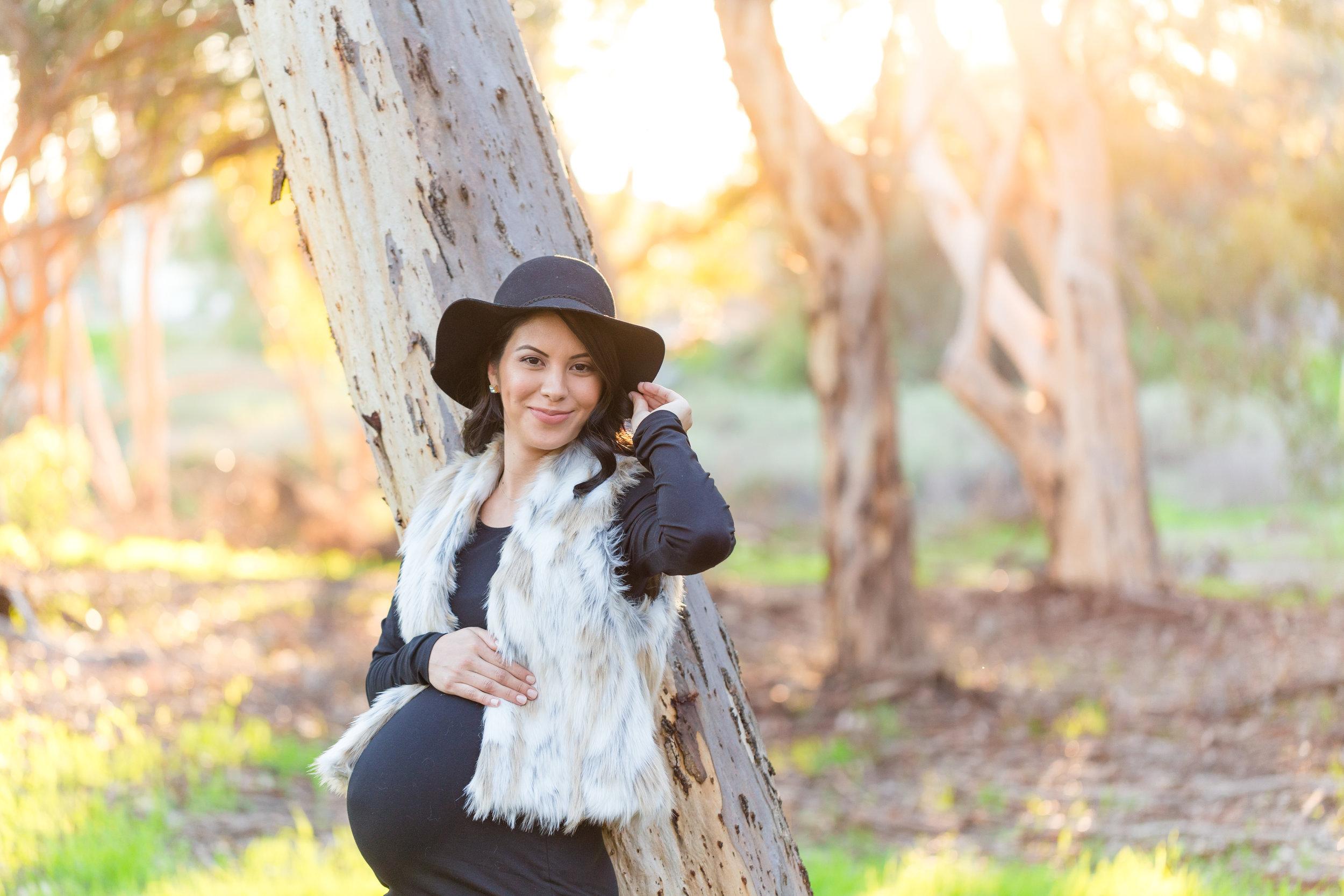 La Jolla Eucalyptus Forest Maternity Session | Winter 2017