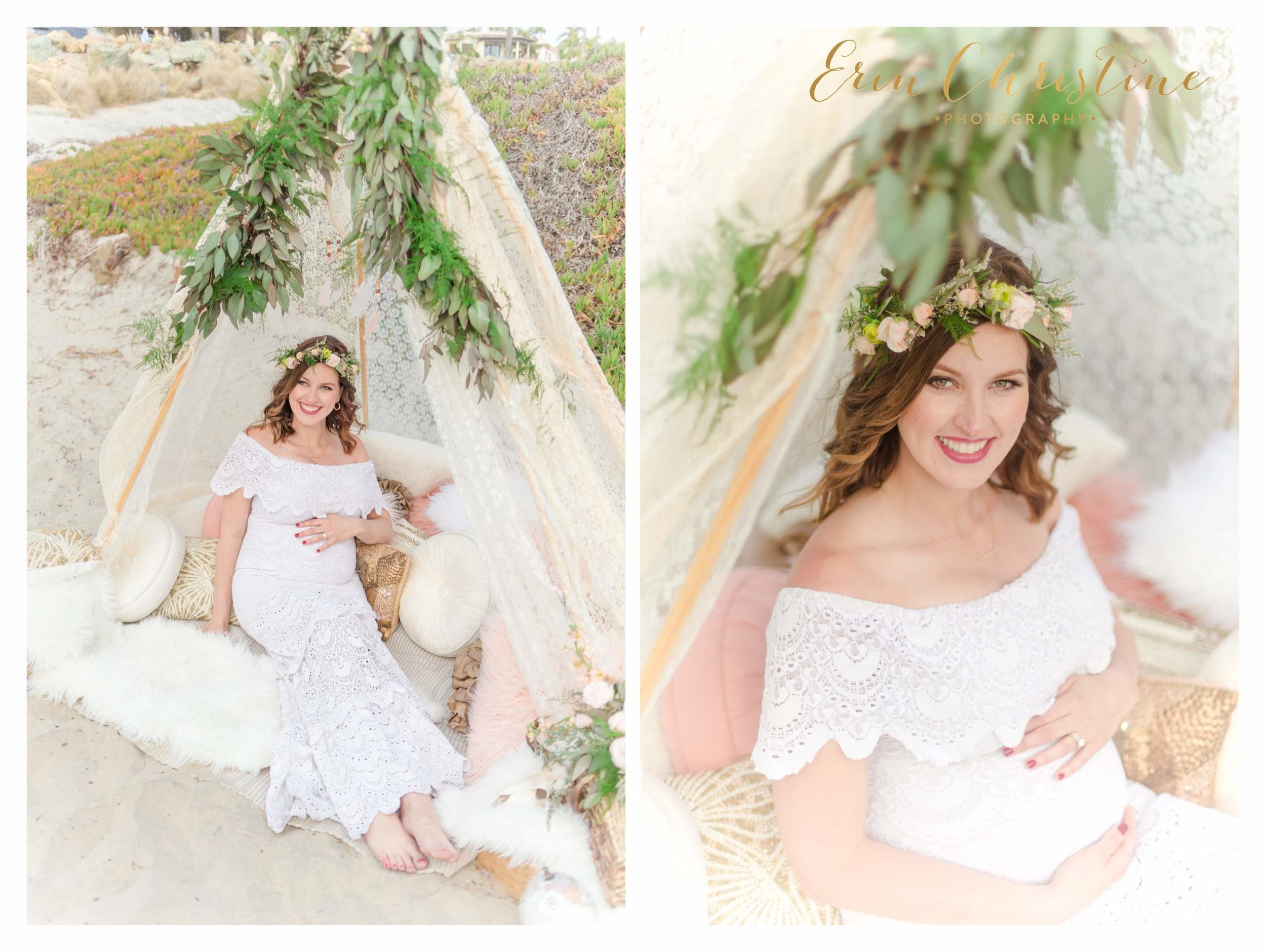 Coronado Beach Maternity Photos