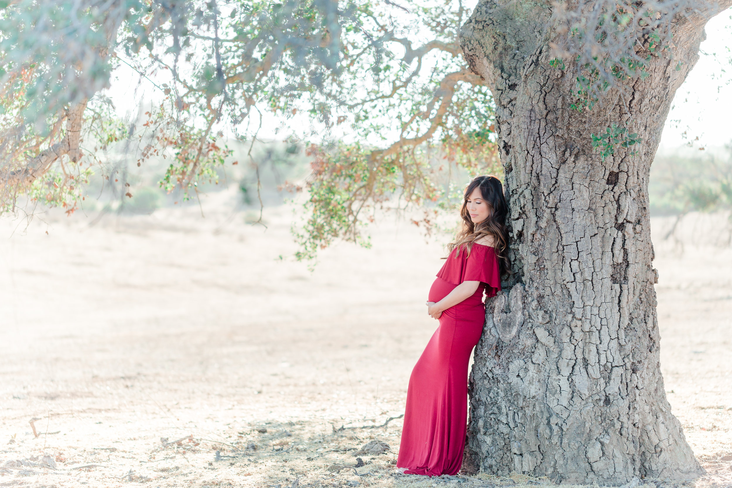 Mother & Daughter Photo Session | Ramona Grasslands Maternity Photos