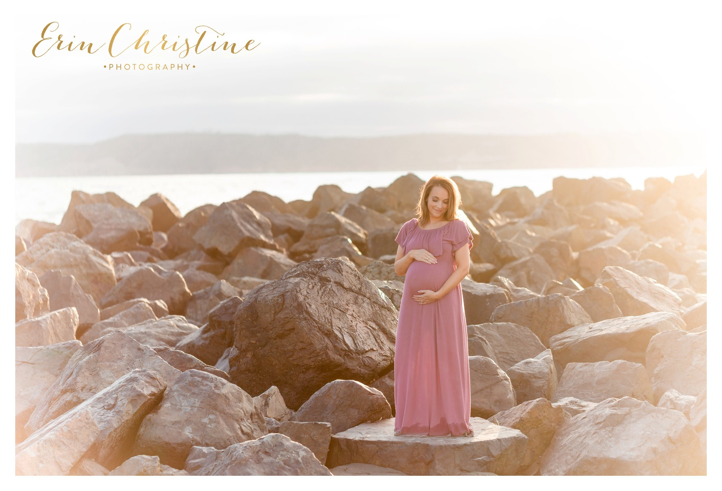 coronado maternity photoshoot