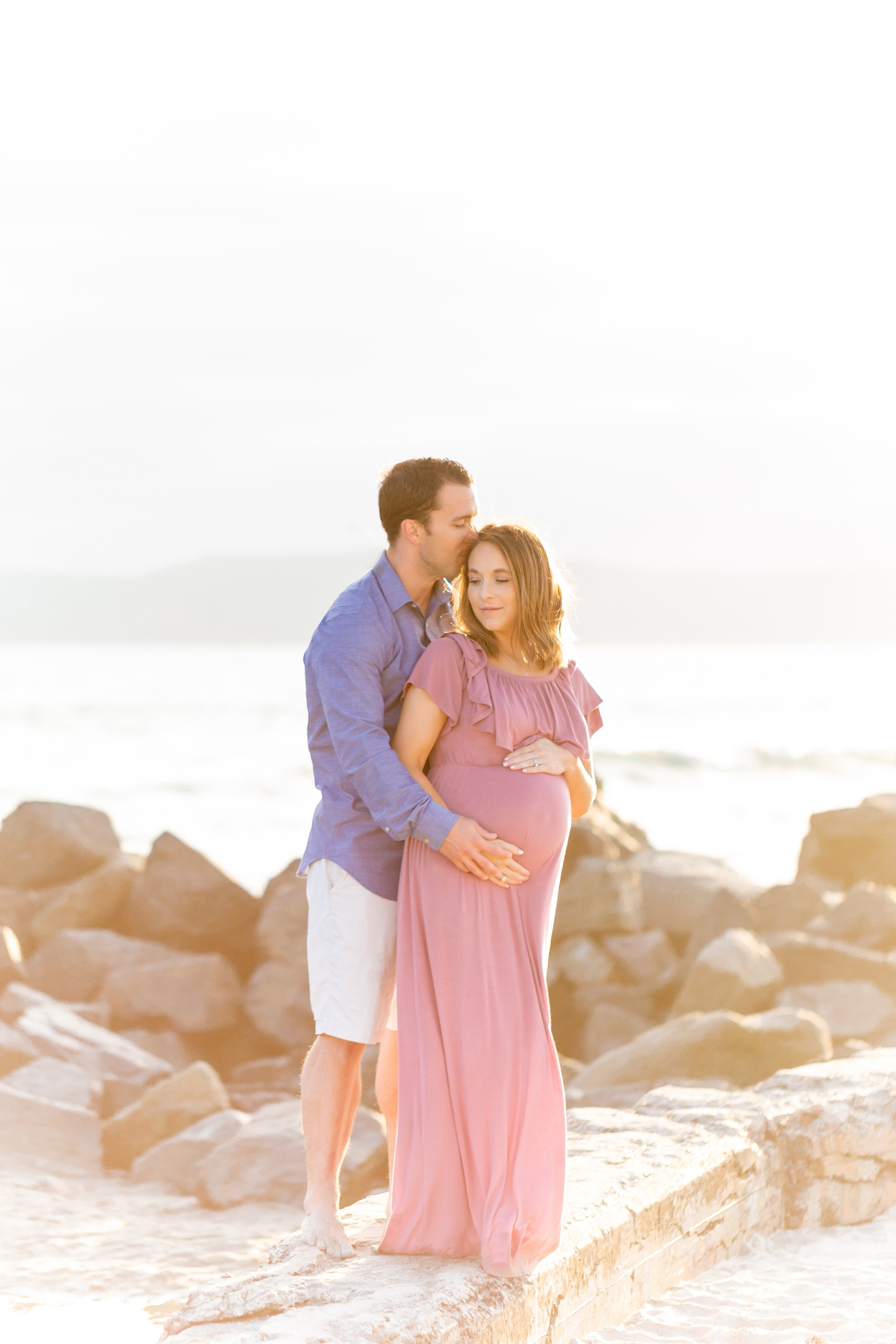 coronado maternity photo session
