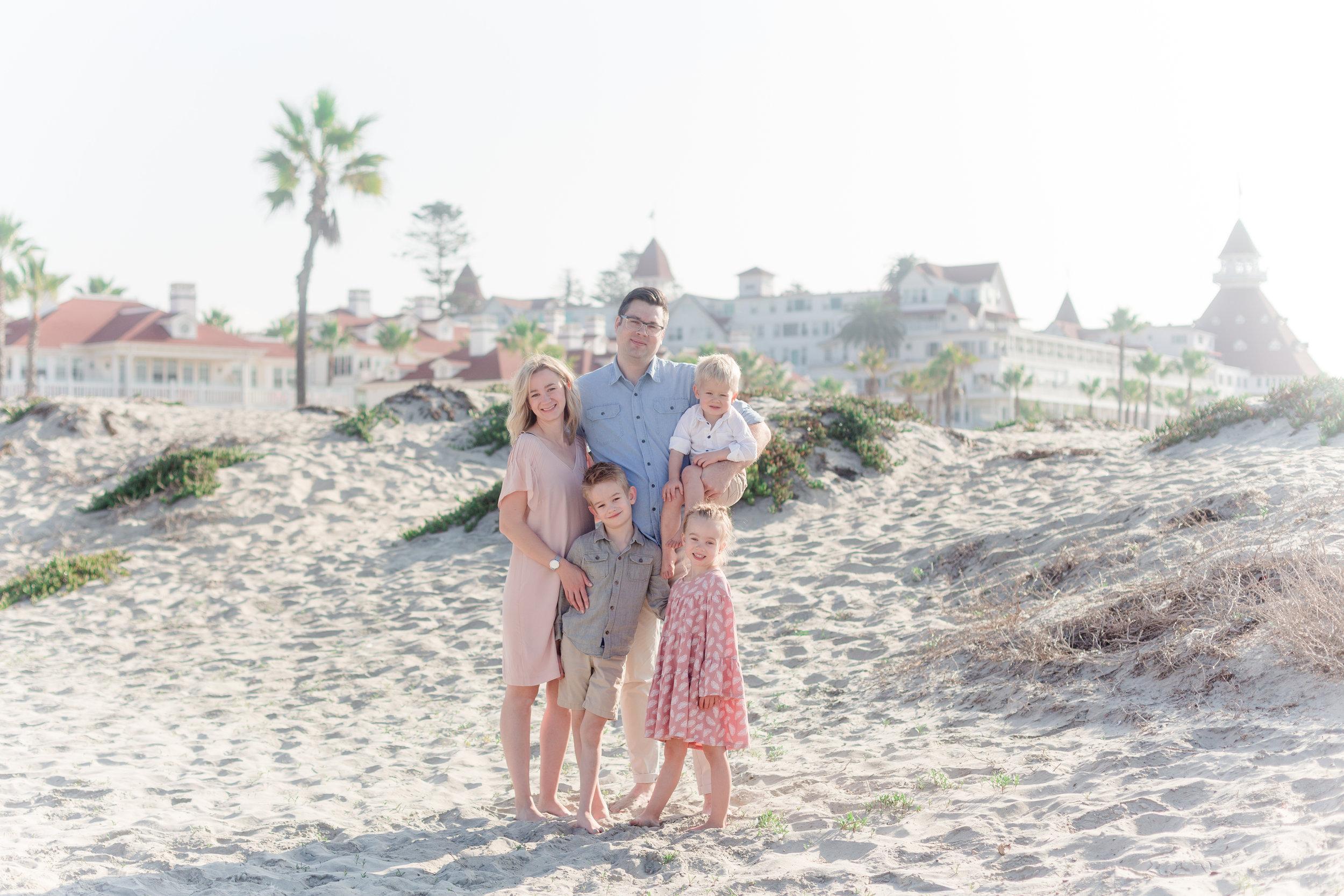 coronado family photos