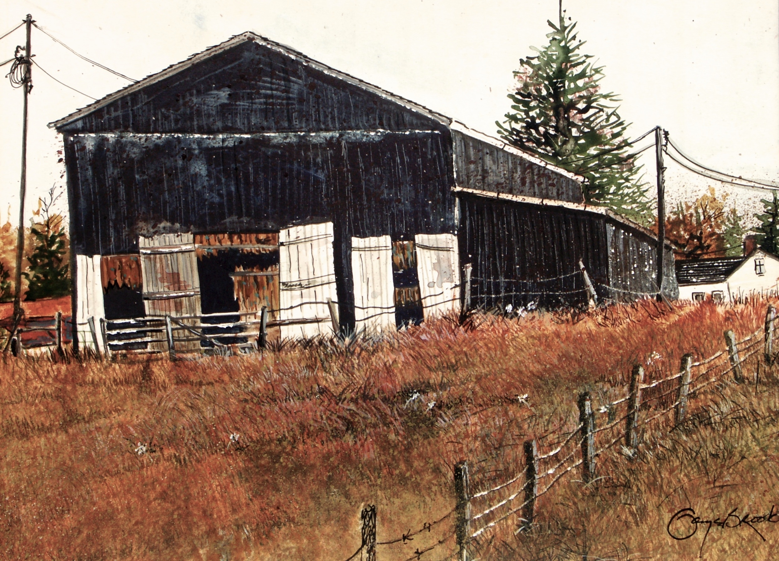 """Black Barn"""