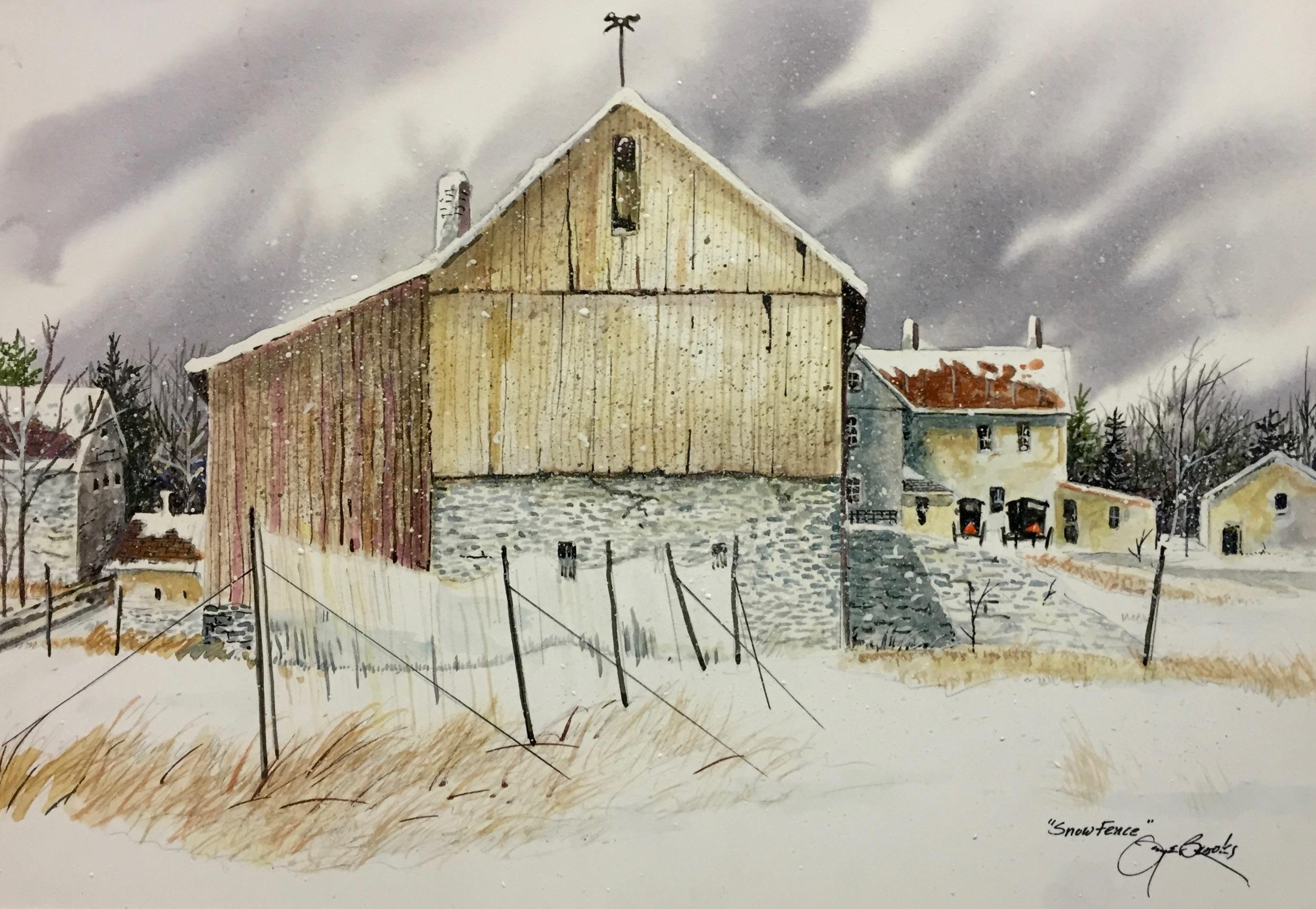 """Snow Fence"""