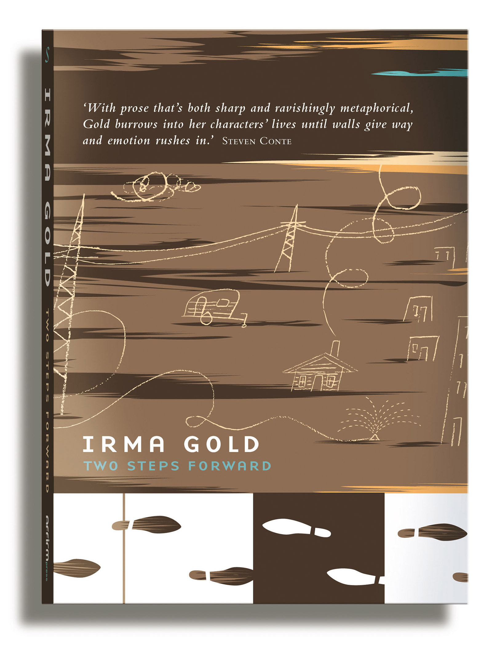 Dean Gorissen-Two Steps Forward Cover LSS