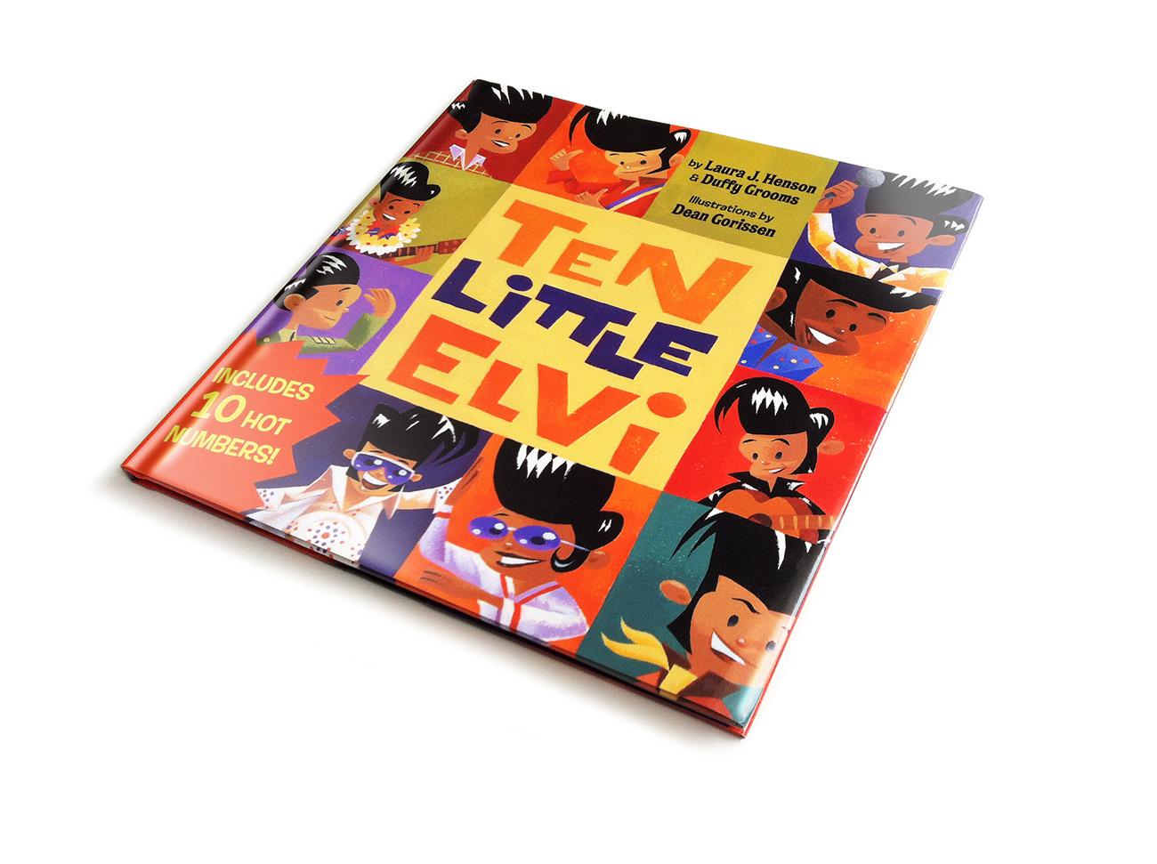 Dean Gorissen-Ten Little Elvi cover