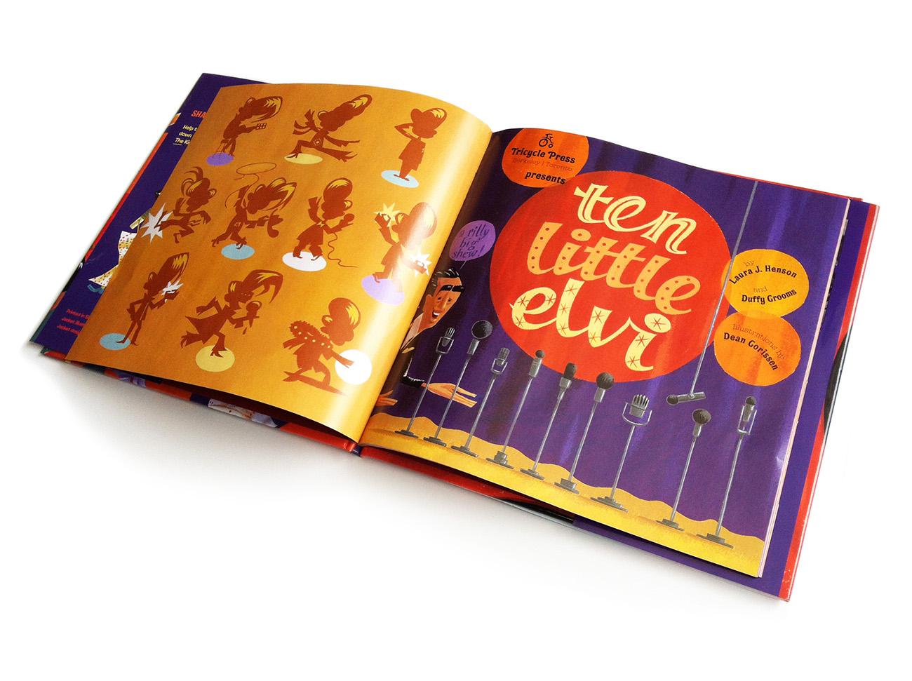 Dean Gorissen-Ten Little Elvi