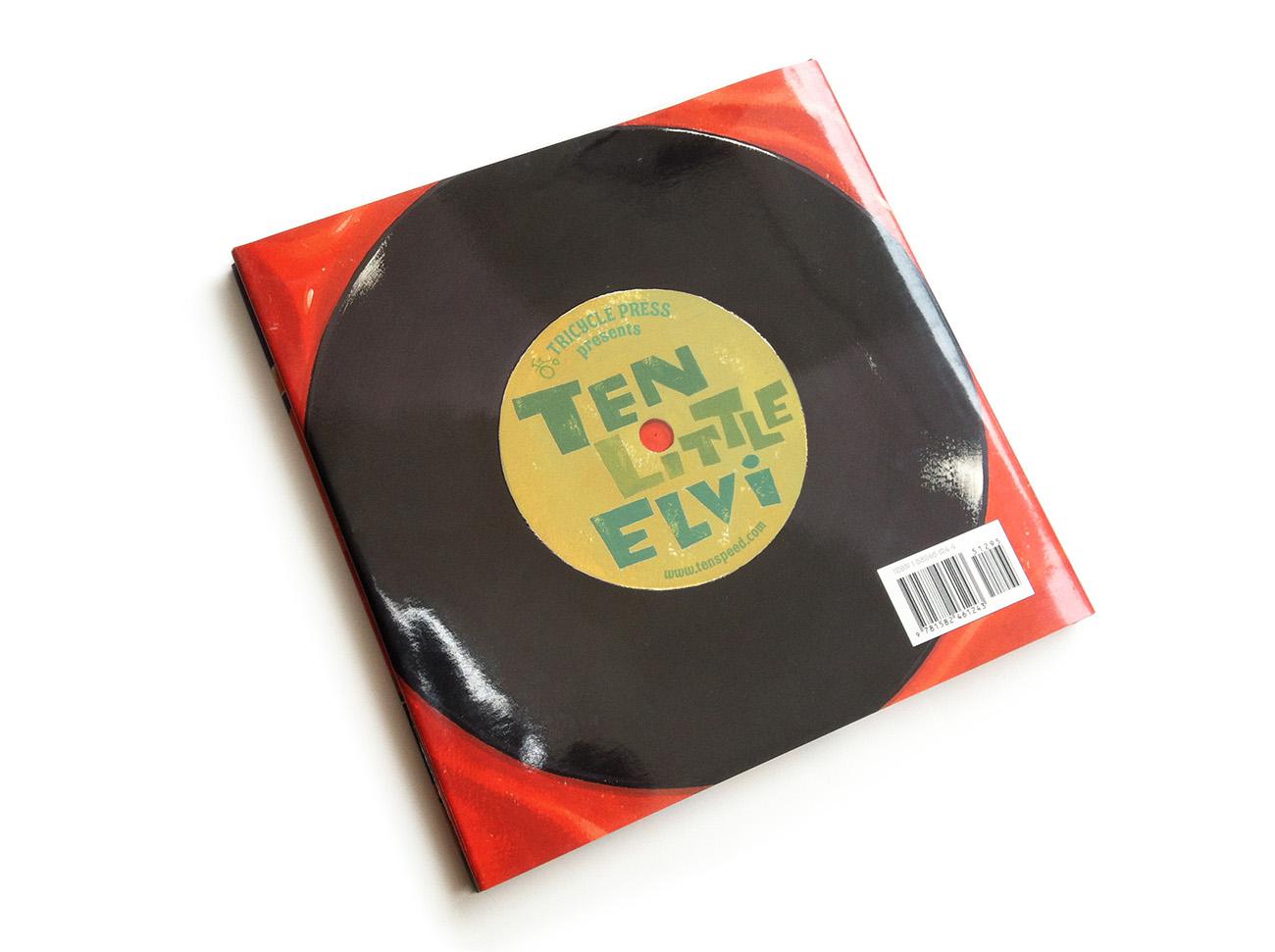 Dean Gorissen-Ten Little Elvi record back cover