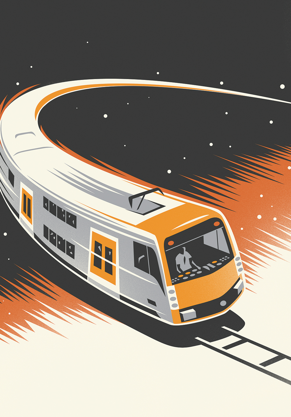 Comet Train deco poster illustration-Dean Gorissen.jpg.jpg