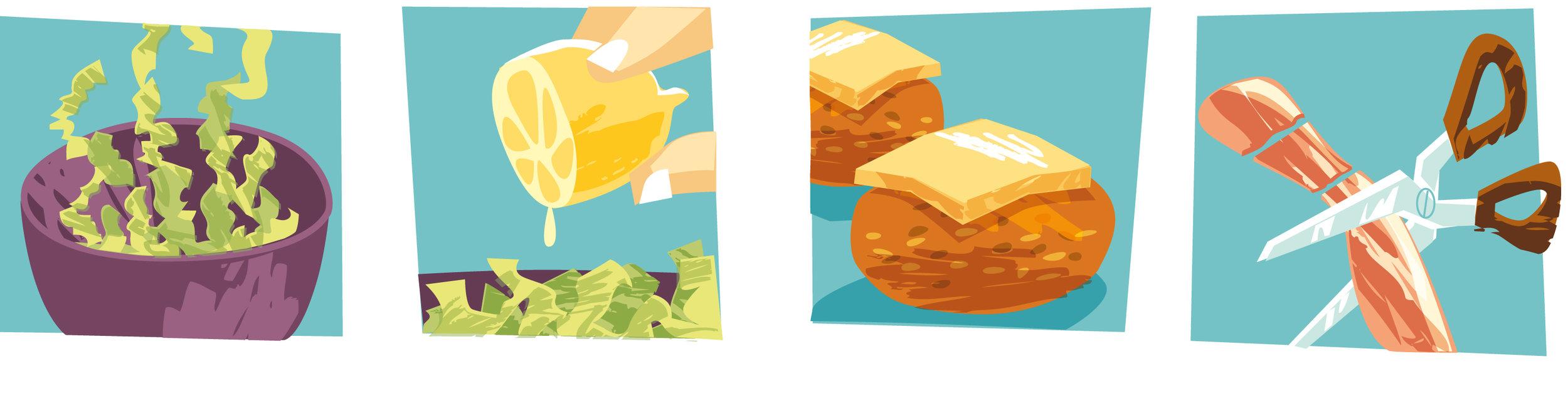 Lettuce lemon pattie cheese bacon illustration-Dean Gorissen.jpg