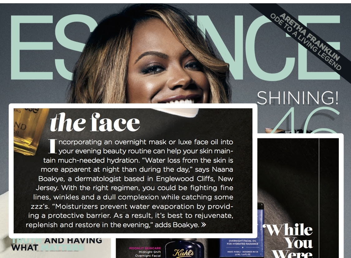 """The Face""  - Feature in Essence Magazine   October 2017"