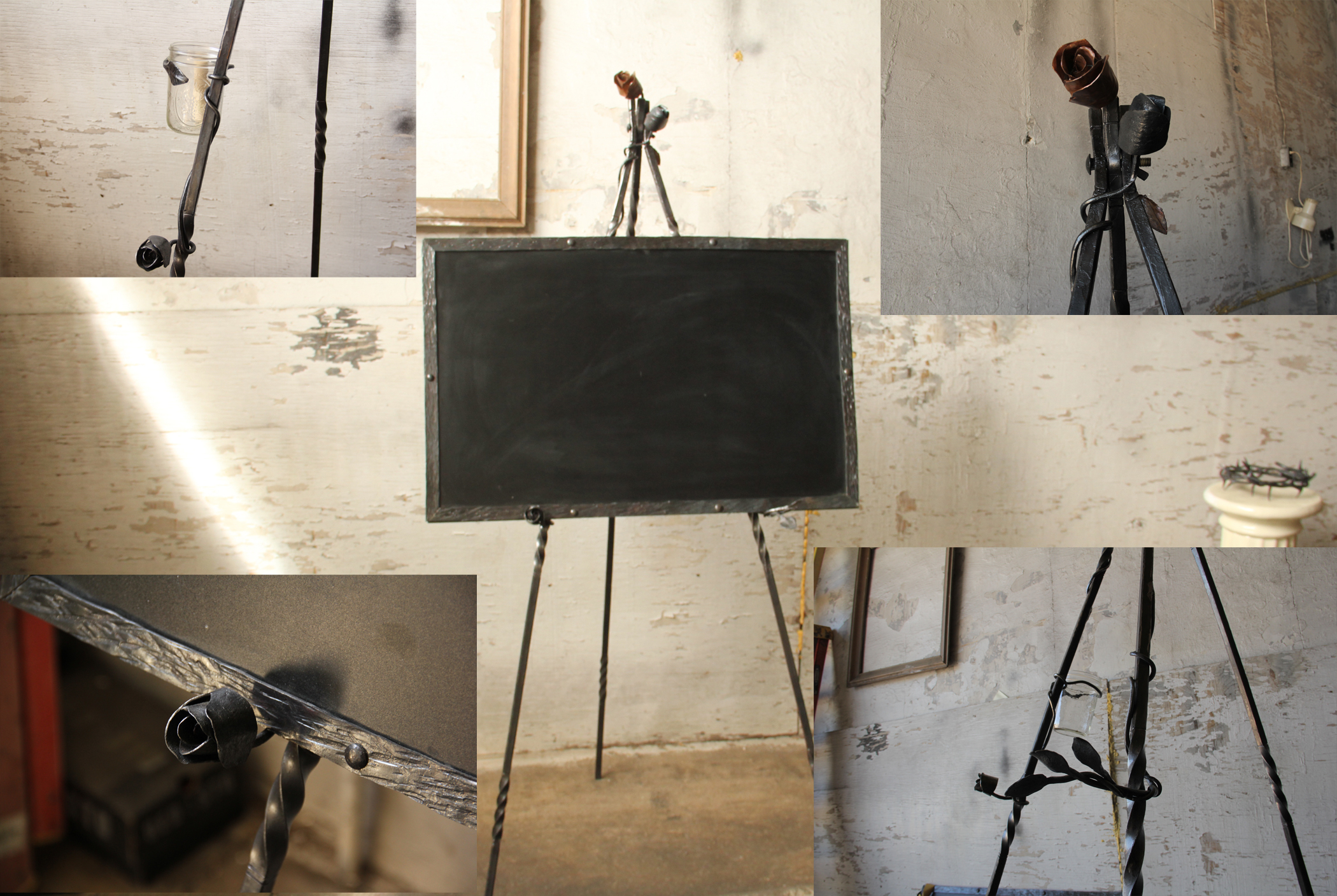 Chalkboard with Frame and Easel