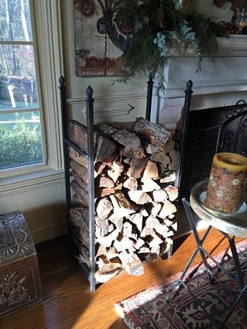 Firewood rack (fabricated)