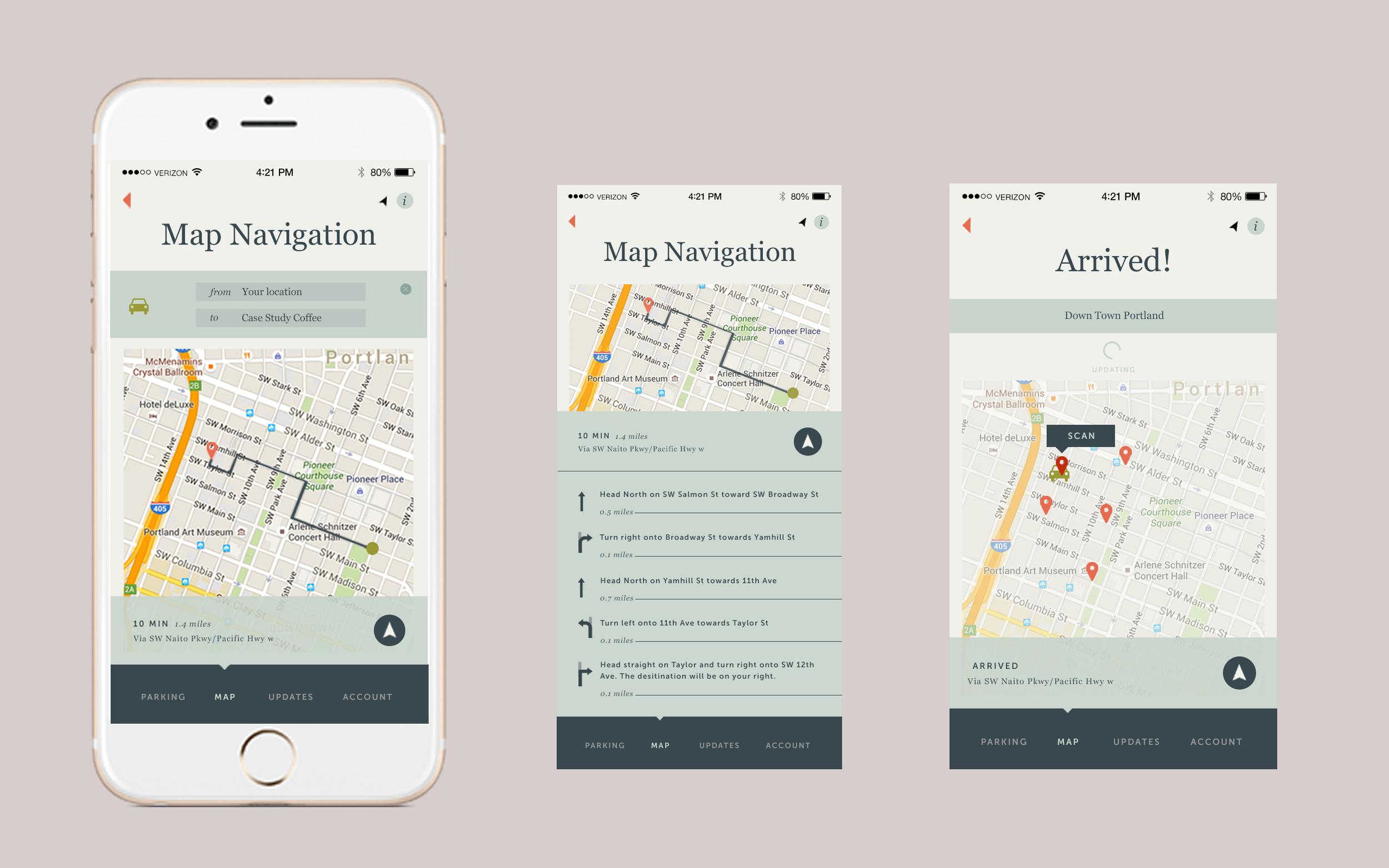 Map Screens