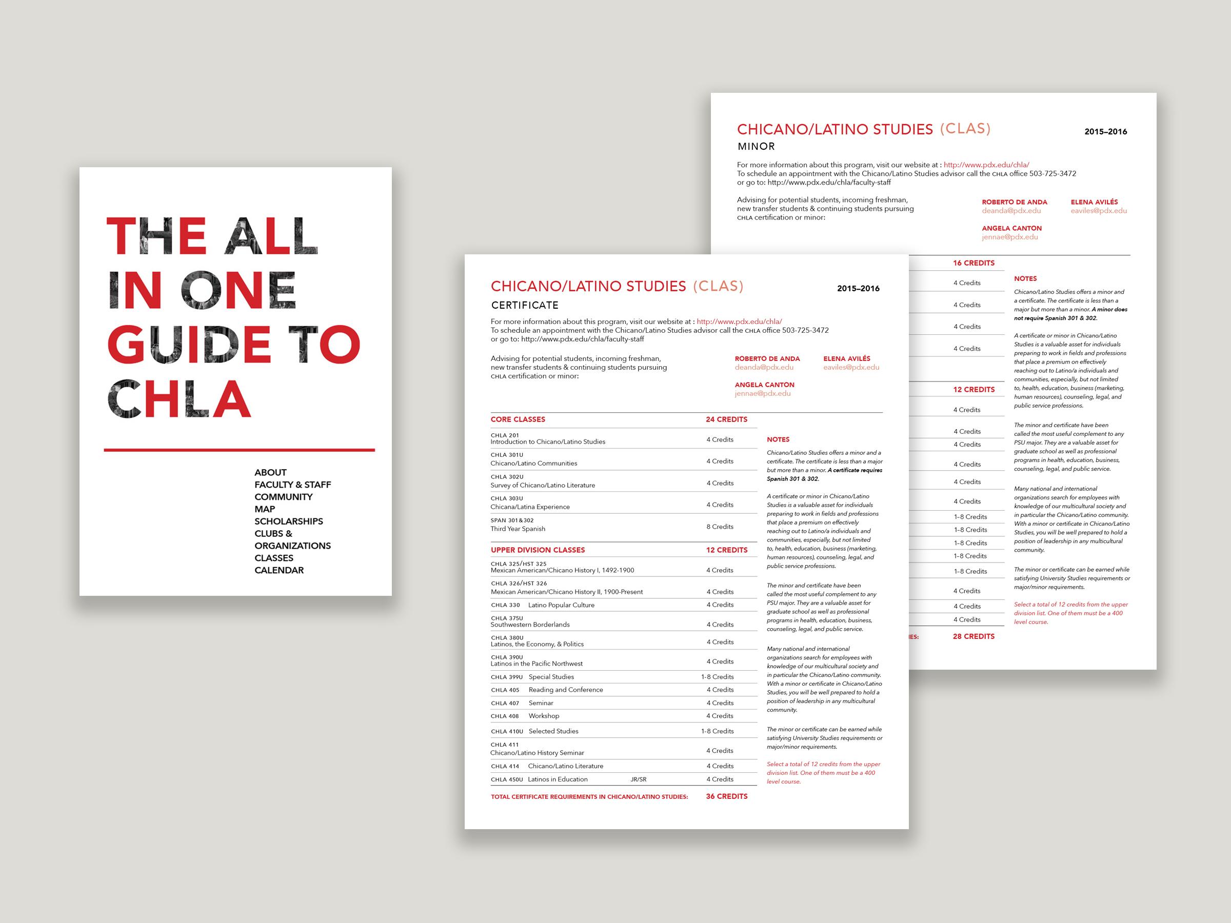 All Print Materials