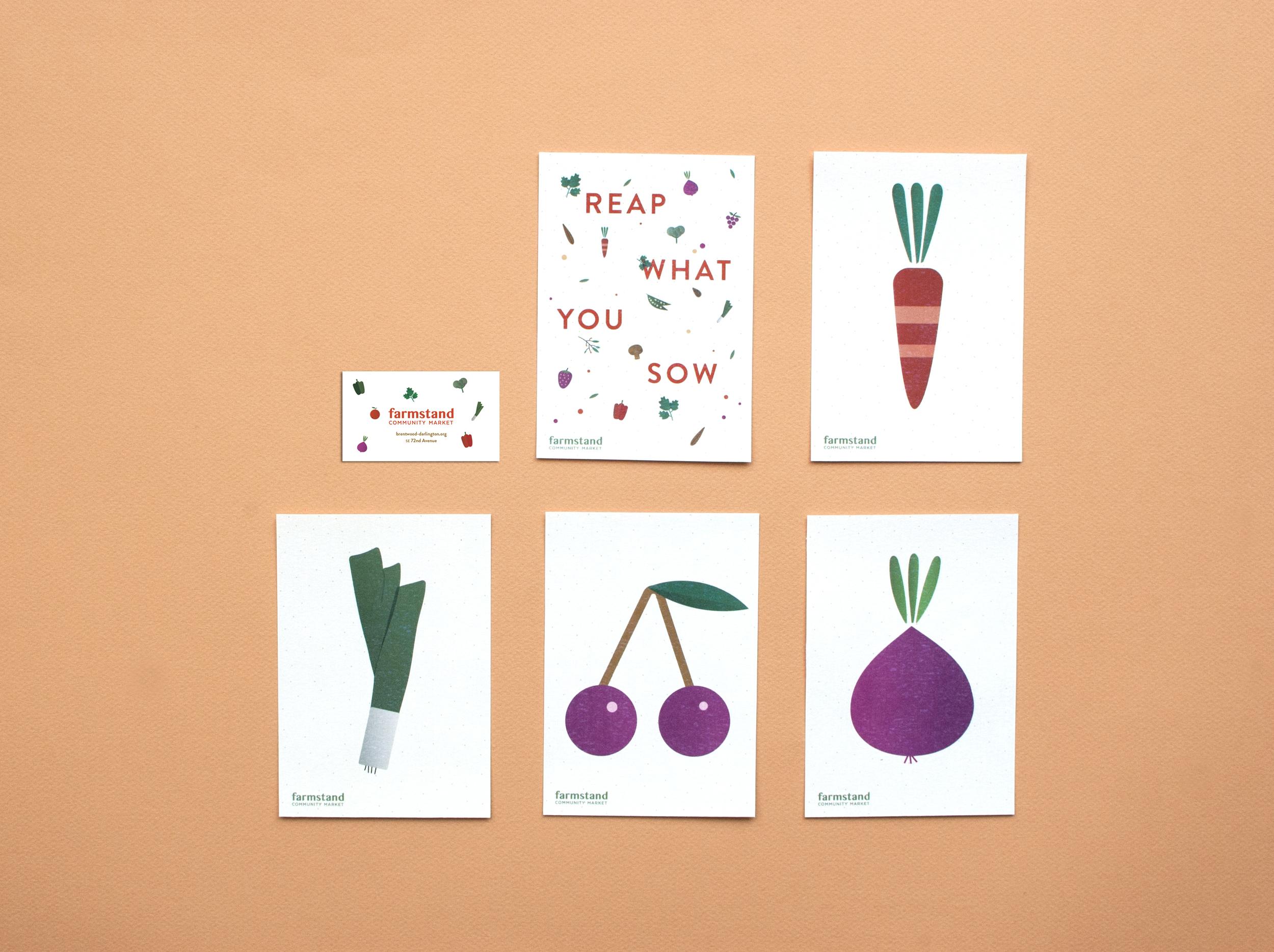 Postcards w.Biz card