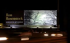 Billboard over Worcester for Ron Rosenstock's Hymn to the Earth exhibit at the Worcester Art Museum 2012