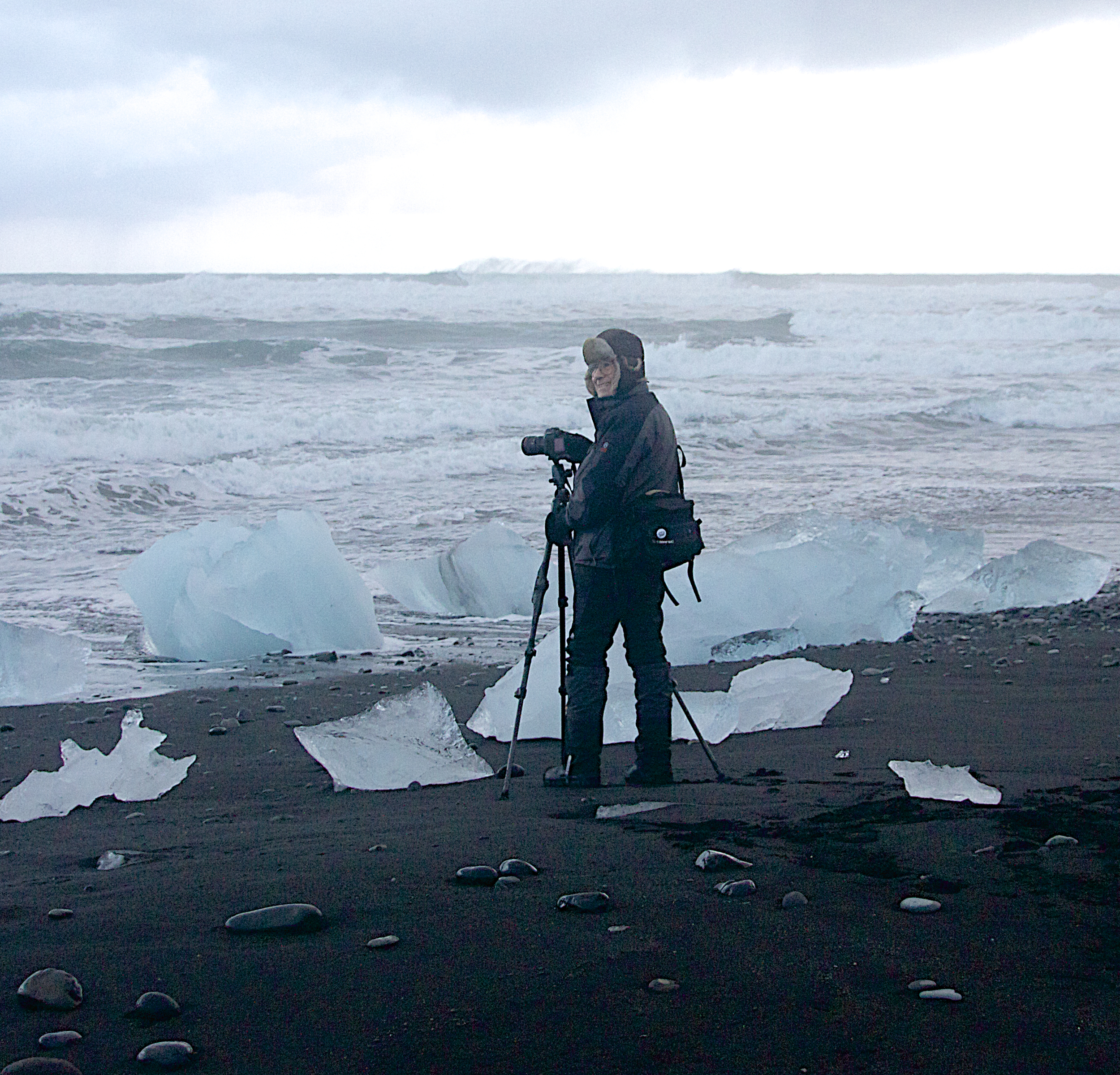 Ron in Iceland 2013