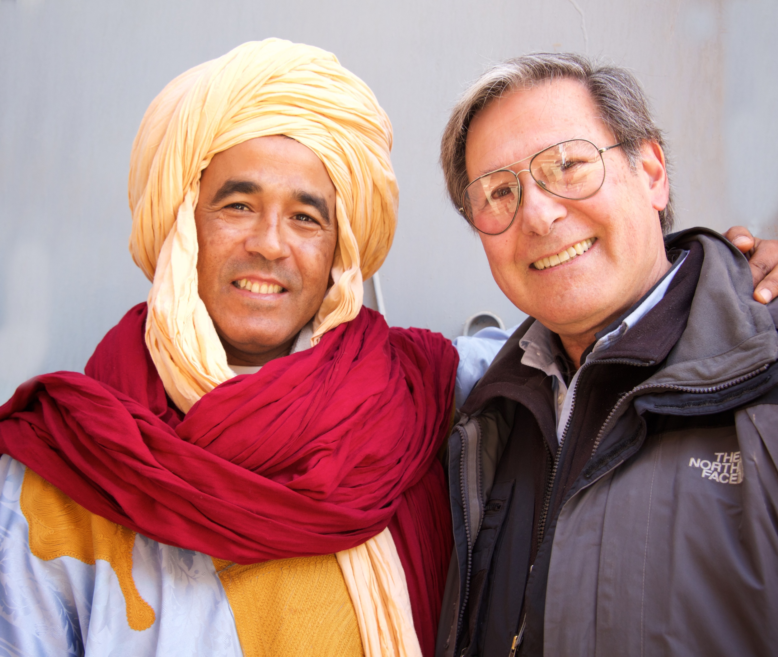 Ron & his incredible Moroccan guide Tieb.